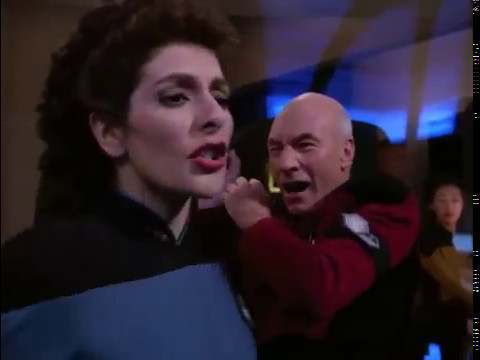 Captain picard loses his mind Star Trek TNG (Blu Ray HD)