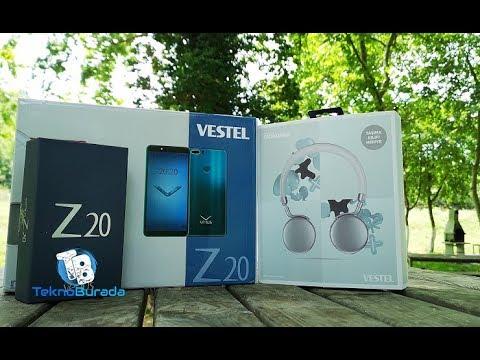 Vestel Venus Z20 Kutu Açılışı