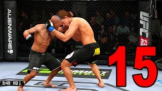 UFC 14 Career Mode - Part 15 - The Main Event (EA Sports UFC 2014 Gameplay)