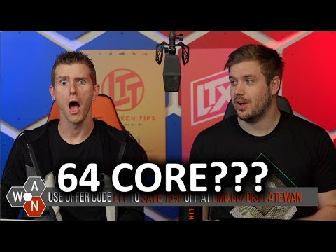 AMD has GONE MAD... 64 Core Threadripper! - WAN Show June 14, 2019 - Save 10% at Ridge Wallet with offer code LTTJune at https://www.ridgewallet.com/LTT Buy three bags jerky and get one free on Savage Jerky at https://lmg.gg/sava
