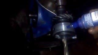 Подгон 35 валика(кабанчика) ВАЗ класика.Ремонт двигателя
