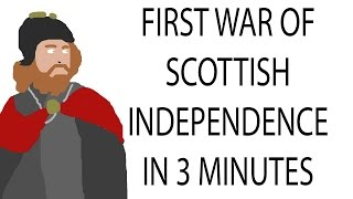 First War of Scottish Independence | 3 Minute History