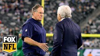 Peter Schrager talks the Patriots plan at QB, Tua's draft stock and the Bears starting QB | FOX NFL