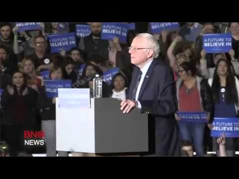 Bernie Sanders Wins Democratic Caucuses in Kansas, Nebraska