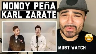 Reacting I'll Be There | Cover by Nonoy Peña & Karl Zarate