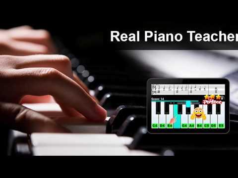 Real Piano Teacher - Best Piano App!