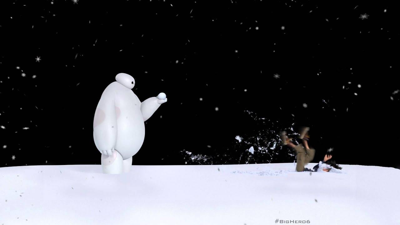 Baymax vs. Snowball - YouTube