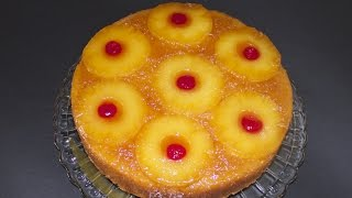 Pineapple Honey Upside Down Cake - A Collaboration With Cookingandcrafting!