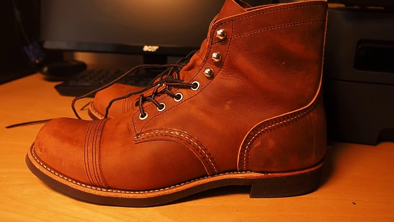 Red Wing Iron Ranger 8085 Copper Rough Amp Tough Youtube