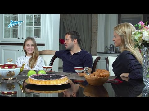 Zenit Family на «Зенит-ТВ»: Екатерина Смольникова в гостях у Кержаковых