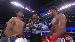 Shakur Stevenson vs. Oscar Mendoza | Highlights