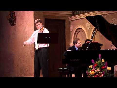 James Ehnes - CAP 2011 Summer Concert Series