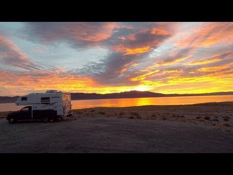 Walker Lake Nevada BLM Dispersed Camping Campsite