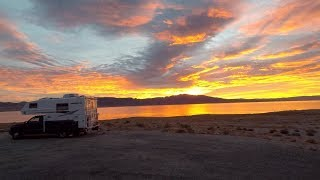 Walker Lake Nevada BLM Dispersed Camping Campsite