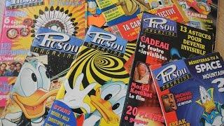POG ET JEUX VIDÉO : PICSOU MAG DES ANNÉES 90 - RÉTROSAURE-SÉRIE