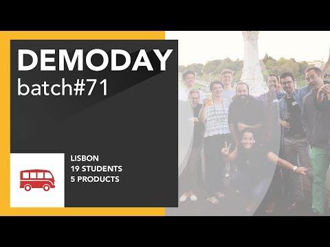 Le Wagon DemoDay - Batch #71 - Lisbon
