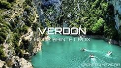 Gorges du Verdon - Lac de Sainte Croix VAR | Drone |