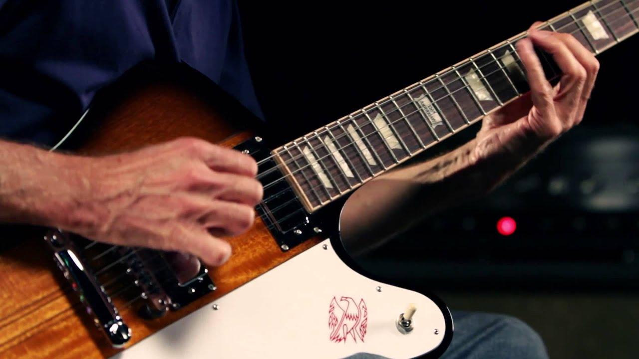 Gibson Firebird Electric Guitar Demo