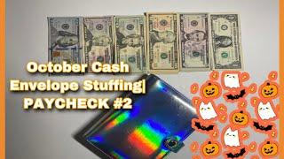 October Cash Envelope Stuffing|Paycheck #2|7 DAY GIVEAWAY |Jonae KyOshee