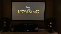 Klipsch The Lion King trailer demo in Mckinney Texas home theater