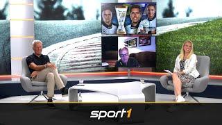 Gerhard Berger und Christian Danner zu Gast | SPORT1 Motor