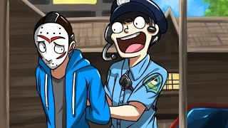 DELIRIOUS GETS ARRESTED! - Gmod Guess Who Funny Moments