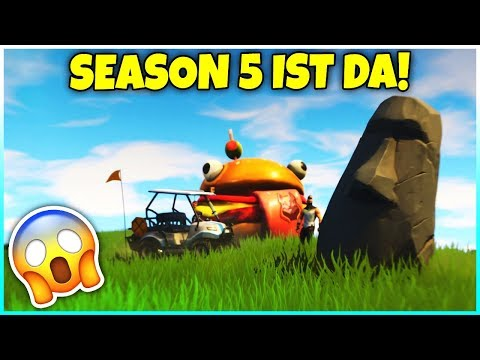 🔴🔥 SEASON 5 ES GEHT LOS! 😰 DER NEUE BATTLE PASS! - Fortnite Battle Royale
