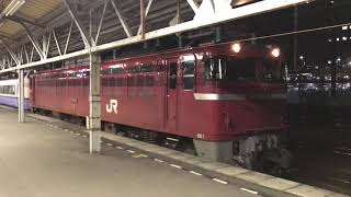 2018.12.5 485廃車回送 秋田駅発車