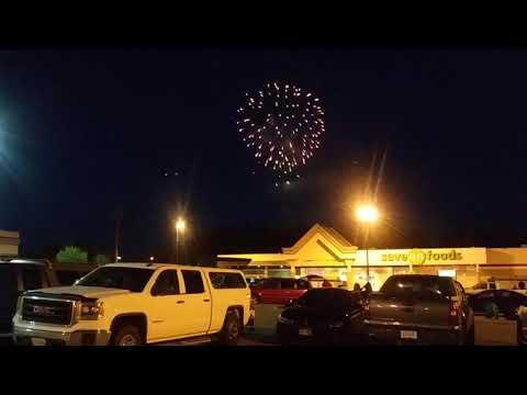 Canada Day Fireworks Prince George 2019