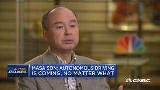 SoftBank CEO: Autonomous driving is the destiny of technology thumbnail
