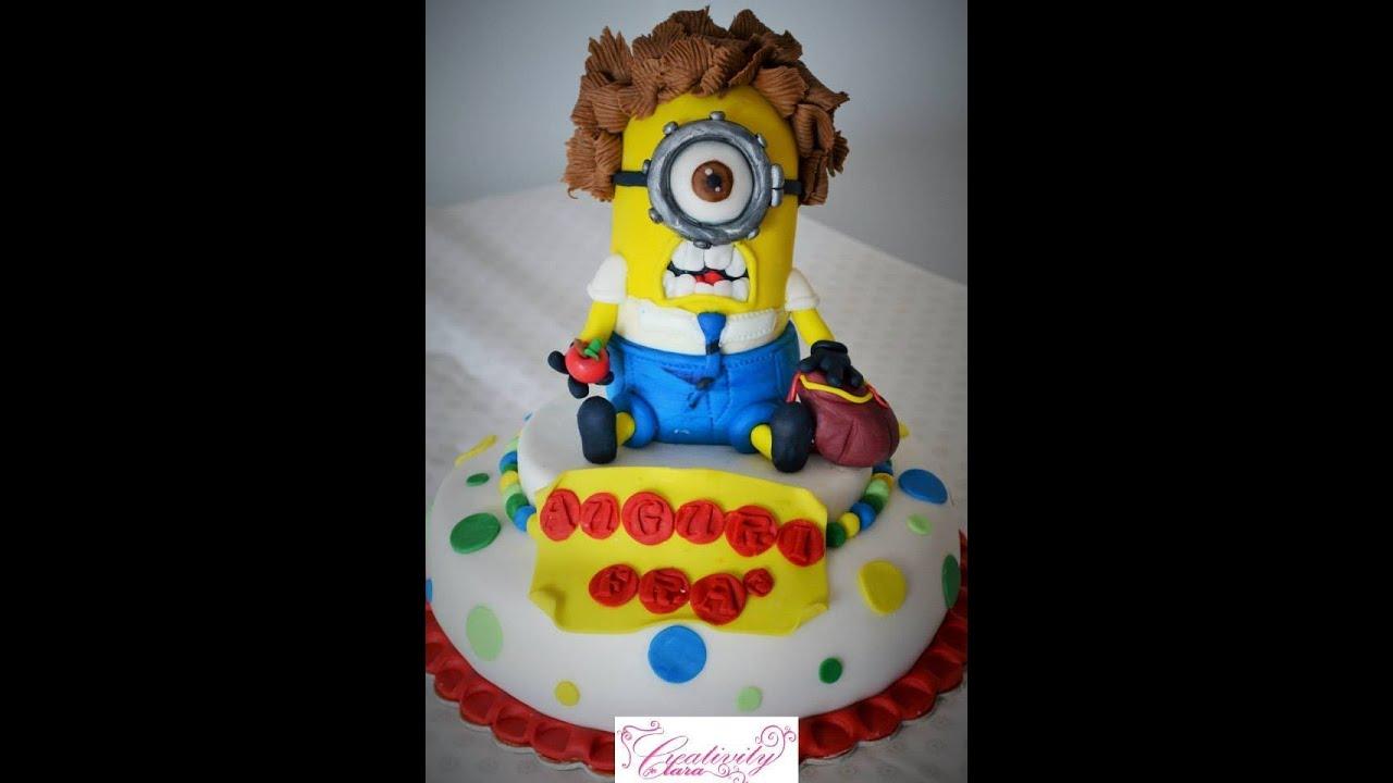 Despicable Cake Topper