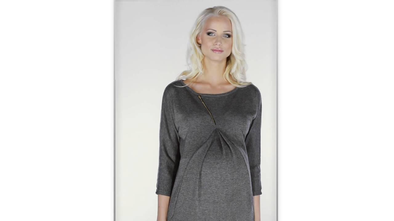 a25caf7cea My Tummy Sukienka ciazowa Paula szara ubrania ciążowe
