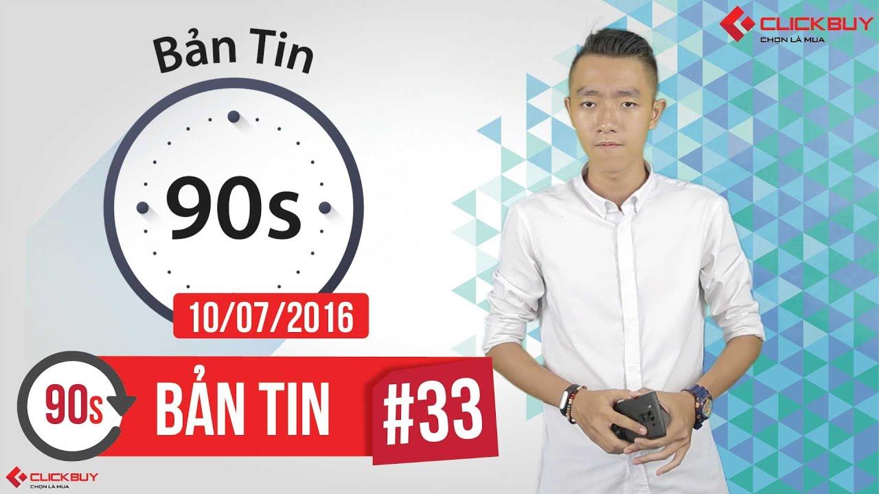 Clickbuy – Bản tin 90s #10/07/2016: Cáp Quang Đứt, HP Elite x3, CEO Twitter Bị Hack