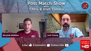 Post Match Show #WHUMCY