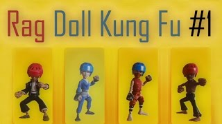 Rag Doll Kung Fu Fists of Plastic - offline 4 players
