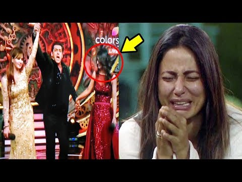 Hina Khan CRIES When Shilpa Shinde WINS Bigg Boss 11 With Salman Khan HEL