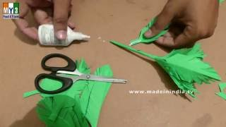 How to Make a Paper Tree | Paper Art Projects | HOW TO MAKE IT | MADE IN INDIA