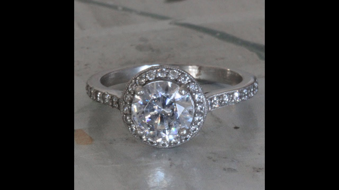 to ring carat your cut diamond weight cushion engagement guide