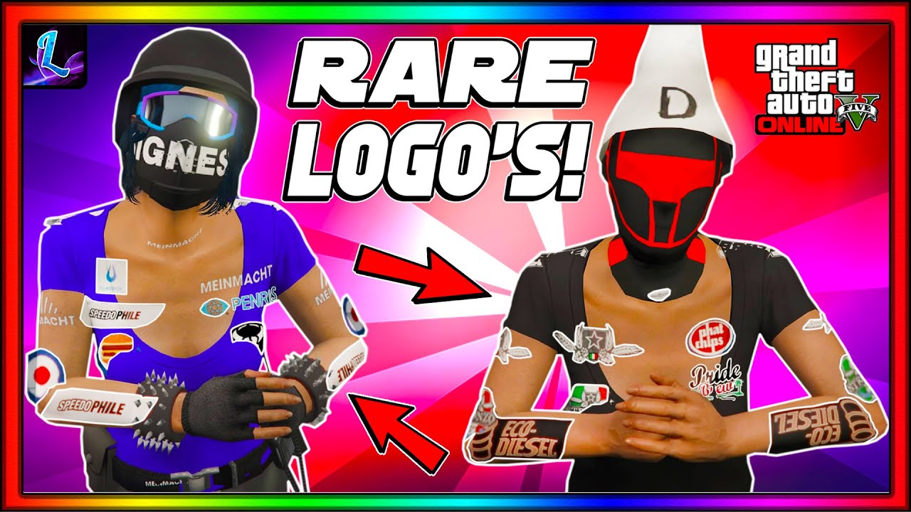 *NEW* HOW TO GET RARE FEMALE LOGO'S IN GTA 5 ONLINE! (NO TRANSFER, NO BEFF, NO SAVE WIZARD)