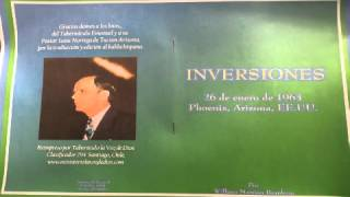 MENSAJE :INVERSIONES POR WILLIAM BRANHAM