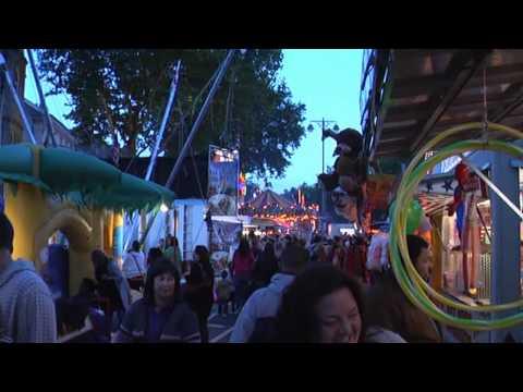 St Giles Fair in Oxford 2010