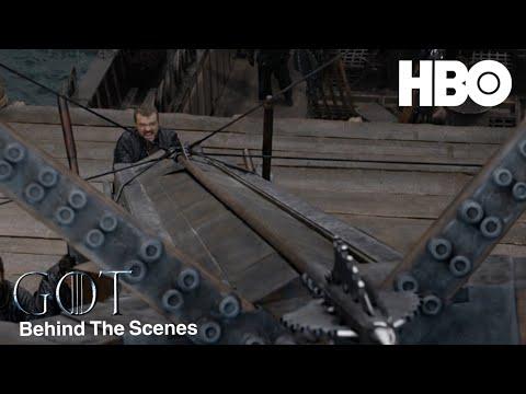 Game Of Thrones Season 8 Episode 4 Behind The Scenes (HBO) - New Ballista - GoT 8X04 - 동영상