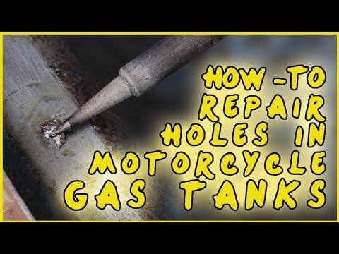 How To Solder Holes In Motorcycle Gas Tanks (2019)