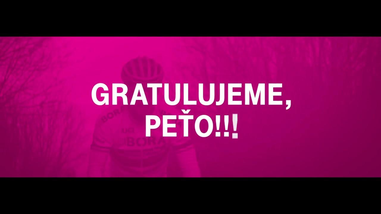 Oslávte s nami tretie Peťove víťazstvo.