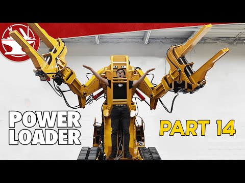 The Giant Comes to Life...(POWER LOADER: PART 14)