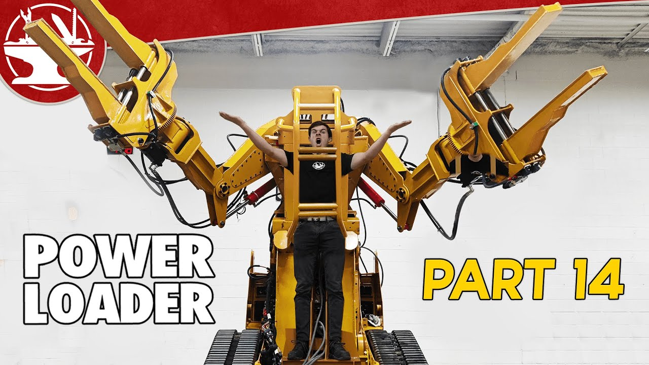 The Giant Comes to Life... (POWER LOADER: PART 14)
