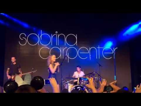 "Sabrina Carpenter Sings ""Take On The World"" from ""Girl Meets World"" LIVE at D23 Expo"