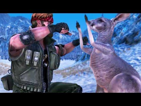CHUCK NORRIS FIGHTS A KANGAROO - Ultimate Epic Battle Simulator | Pungence