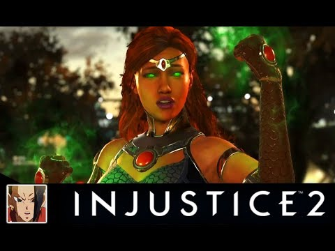 Thumbnail: Injustice 2 - TOP 10 Starfire Saddest Interaction/Intro Dialogues (So many Dick Grayson References)