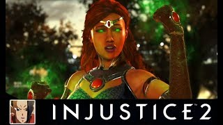 Injustice 2 - TOP 10 Starfire Saddest Interaction/Intro Dialogues (So many Dick Grayson References)